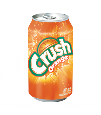 Crush Orange - 12fl.oz (355ml) Canadian Products Crush
