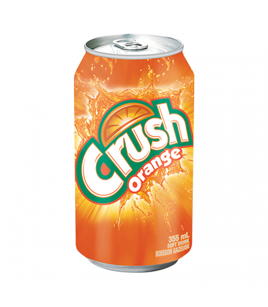 Clearance Special - Crush Orange - 12fl.oz (355ml) ** Best Before: 28 October 19 ** Clearance Zone