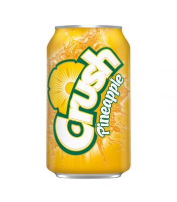 Crush Pineapple - 12fl.oz (355ml) [US] Soda and Drinks Crush