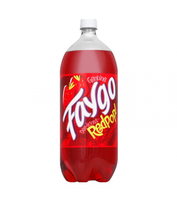 Faygo Red Pop - 2.5ltr Soda and Drinks Faygo