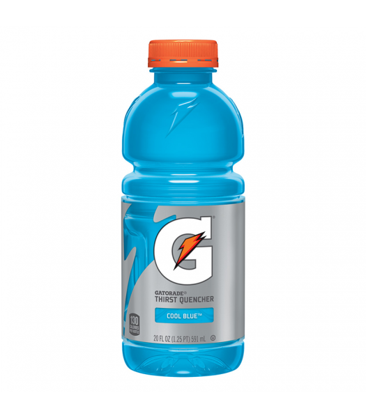 Clearance Special - Gatorade Cool Blue 20oz (591ml) ** Best Before: 3rd Feb 2019 ** Clearance Zone