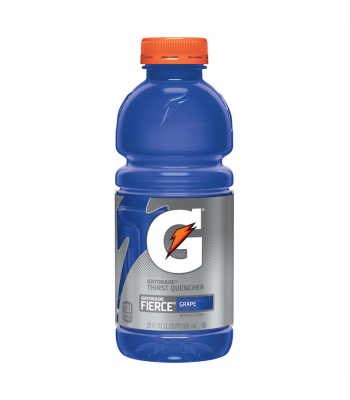 Gatorade Fierce Grape - 20fl.oz (591ml)  Soda and Drinks Gatorade