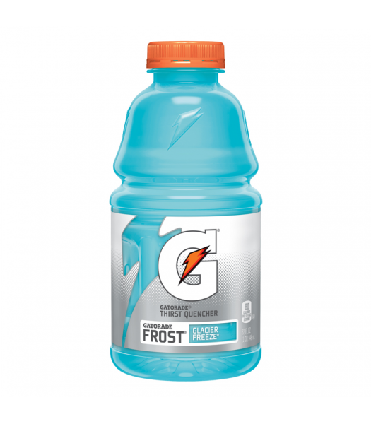 Gatorade Frost Glacier Freeze - 32fl.oz (946ml) Soda and Drinks Gatorade