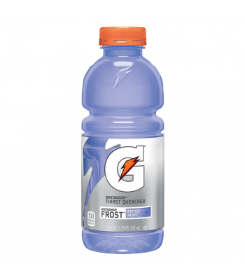 Gatorade Frost Riptide Rush 20oz (591ml) Energy & Sports Drinks Gatorade