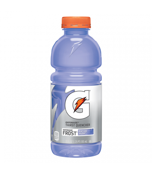 Clearance Special - Gatorade Frost Riptide Rush 20oz (591ml) **Best Before: 24 December 20** Clearance Zone
