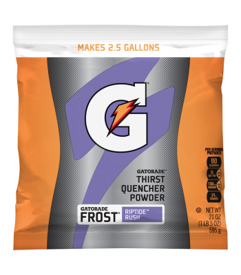 Gatorade - Frost Riptide Rush Instant Powder Mix - 21oz (595g) Soda and Drinks Gatorade