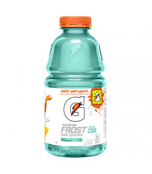 Gatorade Frost Arctic Blitz 32fl.oz (946ml) Regular Soda Gatorade