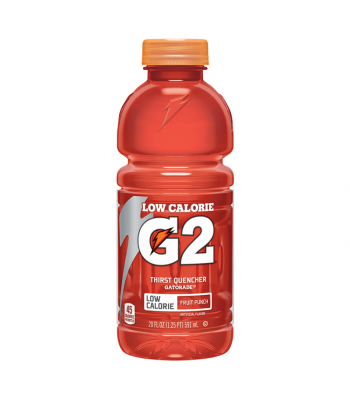 Gatorade G2 Low Calorie Fruit Punch - 20fl.oz (591ml)  Soda and Drinks Gatorade