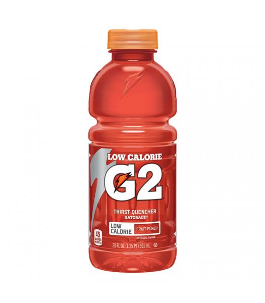 Gatorade G2 Low Calorie Fruit Punch 20oz (591ml)  Energy & Sports Drinks Gatorade