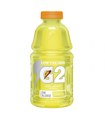 Gatorade G2 Lemon Lime (Low Calorie) - 32fl.oz (946ml) Soda and Drinks Gatorade