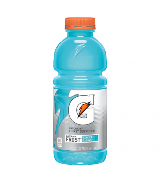 Gatorade Frost Glacier Freeze 20oz (591ml) Energy & Sports Drinks Gatorade