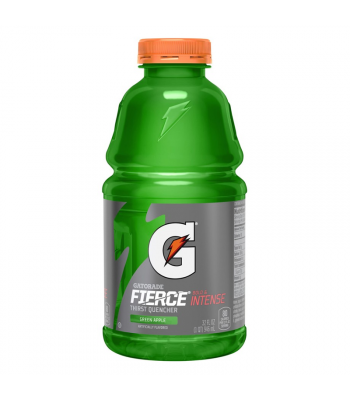 Gatorade Fierce Green Apple 32oz (946ml) Energy & Sports Drinks Gatorade