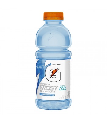 Gatorade Frost Icy Charge 20oz (591ml) Soda and Drinks Gatorade
