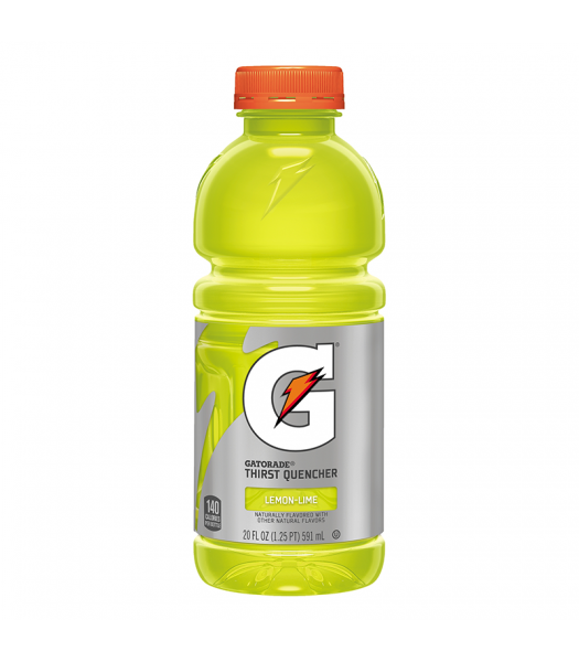 Clearance Special - Gatorade Lemon Lime - 20fl.oz (591ml) **Best Before: April 21** Clearance Zone