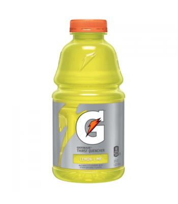 Gatorade Lemon Lime - 32fl.oz (946ml) Soda and Drinks Gatorade