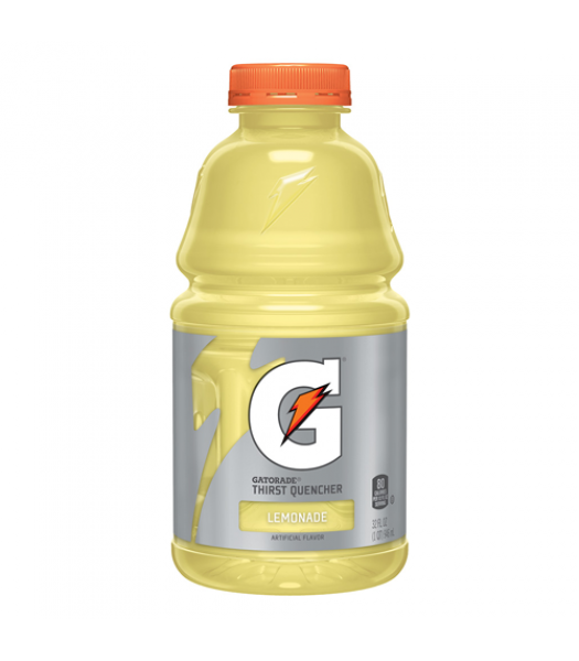 Gatorade Lemonade Thirst Quencher 32oz (946ml) Bottle Energy & Sports Drinks Gatorade