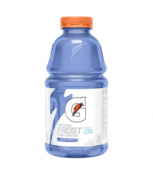 Gatorade Frost Riptide Rush 32oz (946ml) Energy & Sports Drinks Gatorade