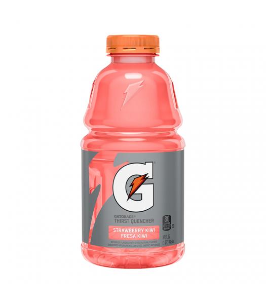 Gatorade Strawberry Kiwi - 32fl.oz (946ml) Soda and Drinks Gatorade