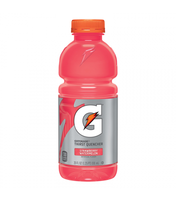 Gatorade Strawberry Watermelon - 20fl.oz (591ml) Soda and Drinks Gatorade