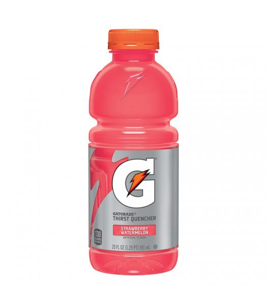 Gatorade Strawberry Watermelon - 20fl.oz (591ml) Soda and Drinks Gatorade