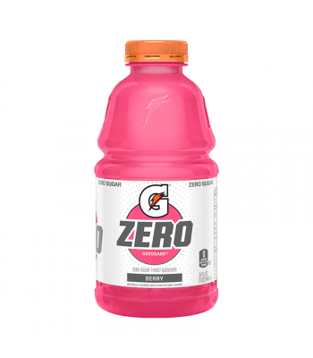 Gatorade Zero Sugar Berry - 32fl.oz (946ml) Soda and Drinks Gatorade