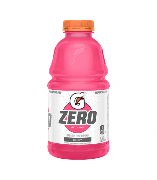 Gatorade Zero Sugar Berry - 32fl.oz (946ml) Soda and Drinks Gatorade