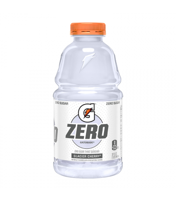 Gatorade Zero Sugar Glacier Cherry - 32fl.oz (946ml) Soda and Drinks Gatorade