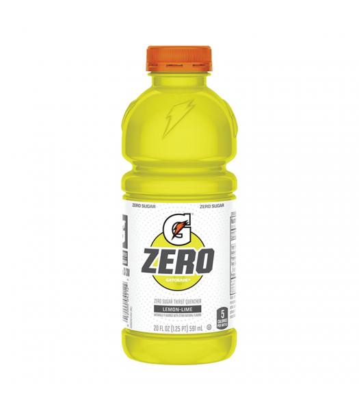Gatorade Zero Sugar Lemon-Lime - 20fl.oz (591ml) Soda and Drinks Gatorade