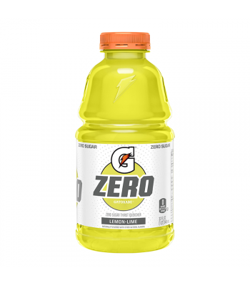 Gatorade Zero Sugar Lemon-Lime - 32fl.oz (946ml) Soda and Drinks Gatorade