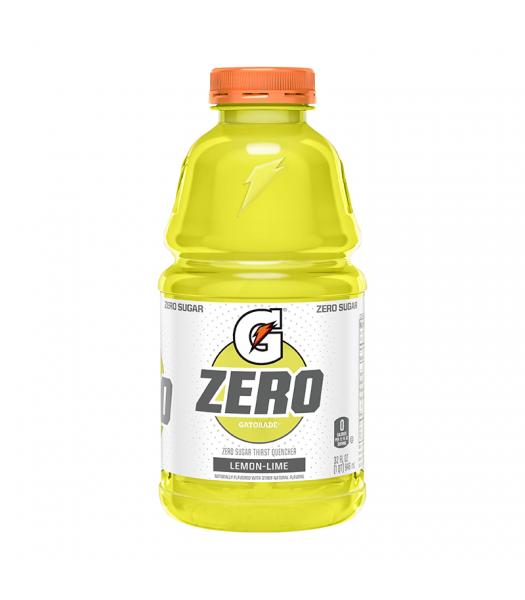 Gatorade Zero Sugar Lemon-Lime - 32fl.oz (946ml) Soda and Drinks Gatorade