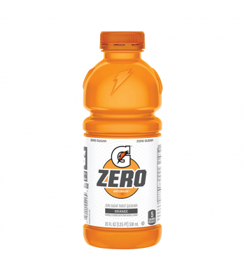 Gatorade Zero Sugar Orange - 20fl.oz (591ml) Soda and Drinks Gatorade