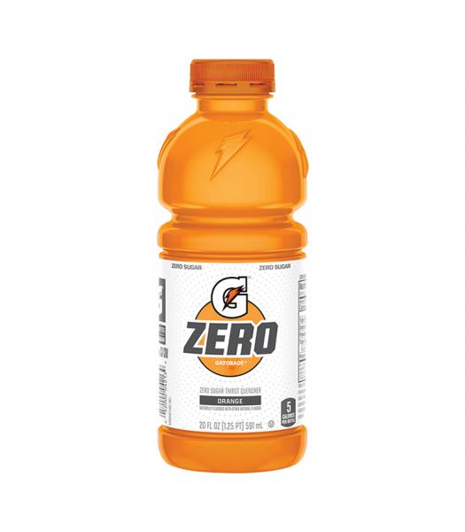 Gatorade Zero Sugar Orange - 20fl.oz (591ml) Soda and Drinks Gatorade