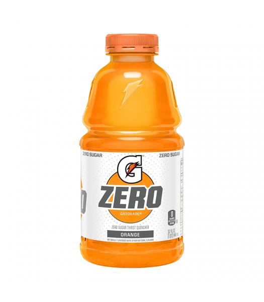Gatorade Zero Sugar Orange - 32fl.oz (946ml) Soda and Drinks Gatorade