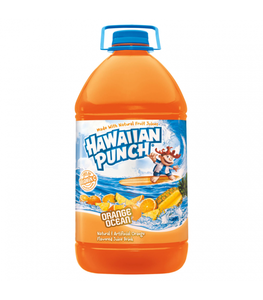 Hawaiian Punch Orange Ocean HUGE 128oz (3.78 ltr)