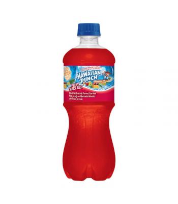 Hawaiian Punch Red - 20oz (591ml) Soda and Drinks Hawaiian Punch