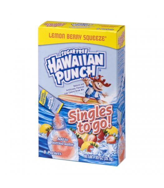 Hawaiian Punch - Singles to Go! Lemon Berry Squeeze - 0.95oz (26.9g) Soda and Drinks Hawaiian Punch
