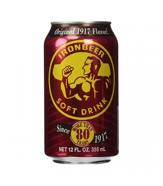 Ironbeer - 12 Oz (355ml) Soda and Drinks