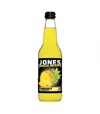 Jones Soda - Pineapple Cream 12fl.oz (355ml) Soda and Drinks Jones Soda