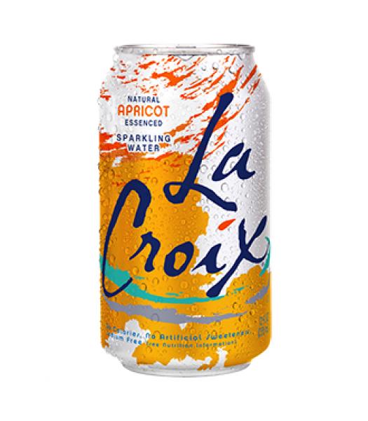 La Croix Apricot Sparkling Water 12oz (355ml) Diet Soda La Croix