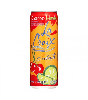 La Croix Cherry Lime Sparkling Water 12fl.oz (355ml) Soda and Drinks