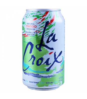 La Croix Mango Sparkling Water 12fl.oz (355ml) Regular Soda La Croix
