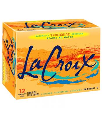 La Croix Tangerine 12-Pack (12 x 12fl.oz (355ml)) Soda and Drinks La Croix