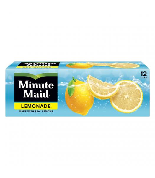 Minute Maid Lemonade - 12-Pack (12 x 12fl.oz (355ml)) Soda and Drinks Minute Maid