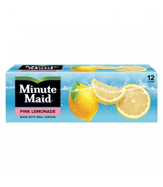Minute Maid Pink Lemonade - 12-Pack (12 x 12fl.oz (355ml)) Soda and Drinks Minute Maid