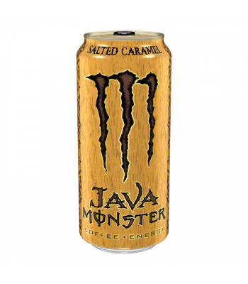 Monster Java Salted Caramel - 15oz (443ml) Energy & Sports Drinks Monster