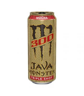 Monster Java 300 Triple Shot Mocha - 15oz (443ml) Soda and Drinks Monster