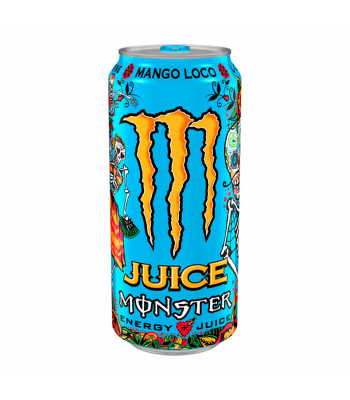 Monster Juice - Mango Loco - 16fl.oz (473ml) Soda and Drinks Monster