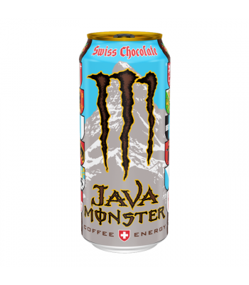 Monster Java Swiss Chocolate - 15oz (443ml) Soda and Drinks Monster