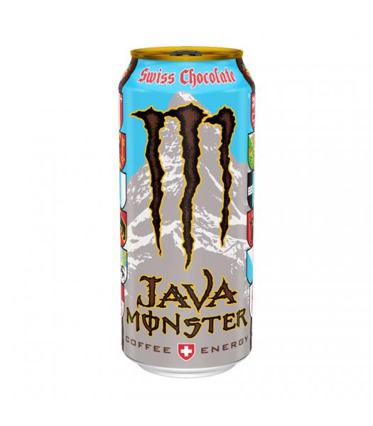 Monster Java Swiss Chocolate - 15fl.oz (443ml) Soda and Drinks Monster