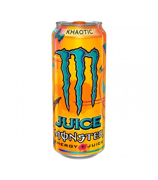 MONSTER JUICE Khaotic - 16oz (473ml) Soda and Drinks Monster